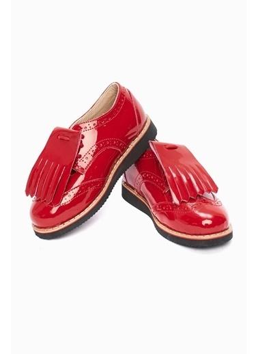 BG Baby Kız Bebek Kırmızı Ayakkabı Kırmızı